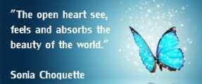 The open heart sees