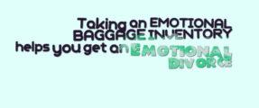 emotional baggage inventory